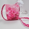Flirtatious fabric purse