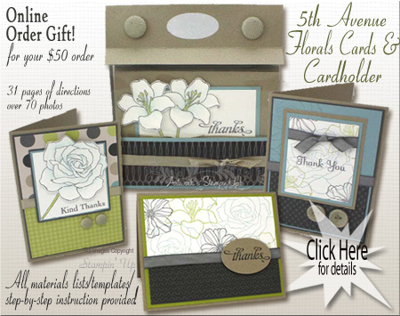 5th Avenue Floral Stationery Set & Box