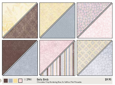 Bella Birds Designer Series Paper