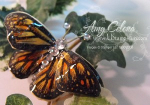 Butterfly Paper Pin
