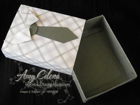 Sizzix Matchbox 'Tie Box'