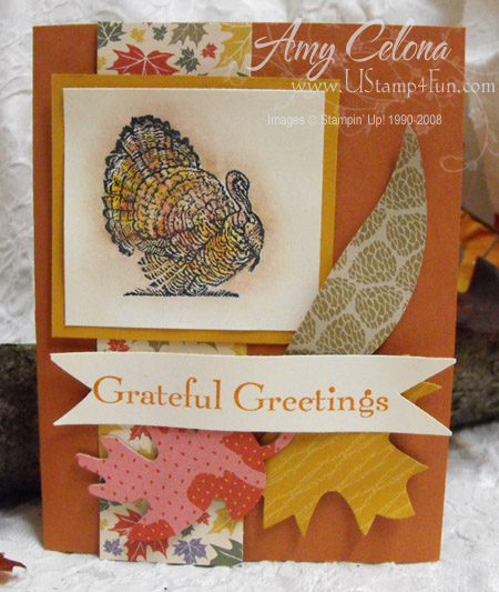Gifts of the Earth Thanksgiving Card
