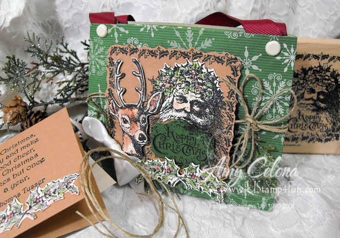 Gift Bag from a 12×12 Designer Series Paper