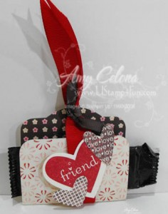 Two Tags Sizzix Die 'Valentine'