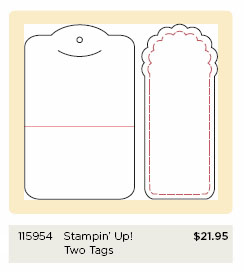 Stampin' Up! exclusive Bigz Die 'Two Tags'