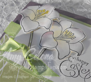 Stampin' Up! 5th Avenue Floral Detail