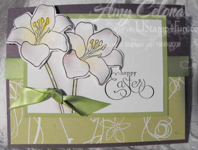 5th Avenue Floral Easter Card