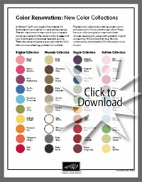 Stampin' Up!'s Color Renovation for 2010