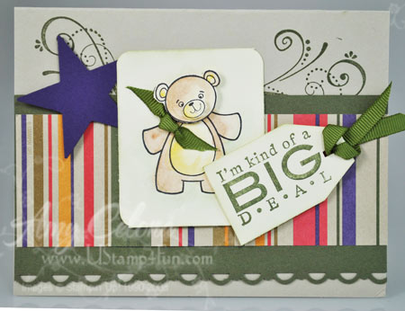 Cute and Cuddly Baby Card
