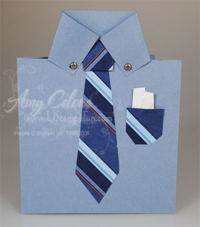 Father's Day Mens Shirt Card