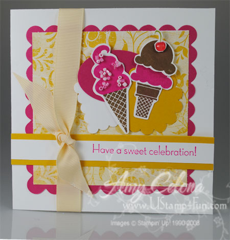 Sweet Scoops Birthday Card