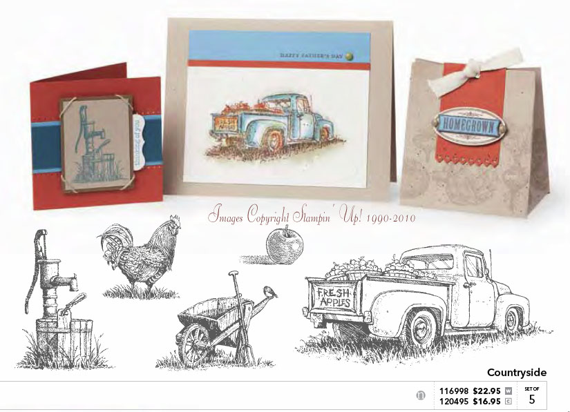 Countryside Vintage Truck Masculine Card Ustamp4fun Com