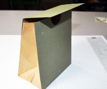 Good Cheer Paper Bag Gift Keeper
