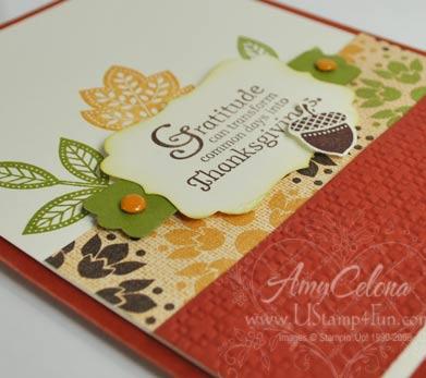 Day of Gratitude Thanksgiving Card
