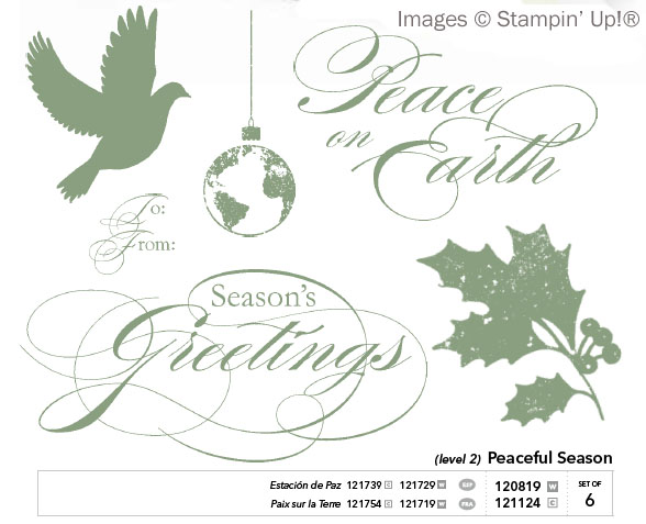 Stampin' Up!'s Peaceful Season Level 2 Hostess Set