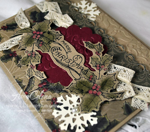 Bells & Boughs Stampin' Up! sample
