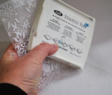 'Engraved Debossed' technique