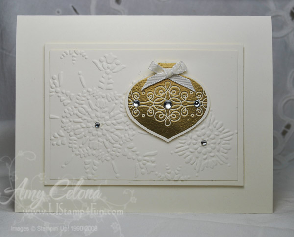 Tags Till Christmas ornament card