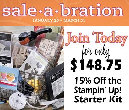 Sale-A-Bration 2011 has arrived!