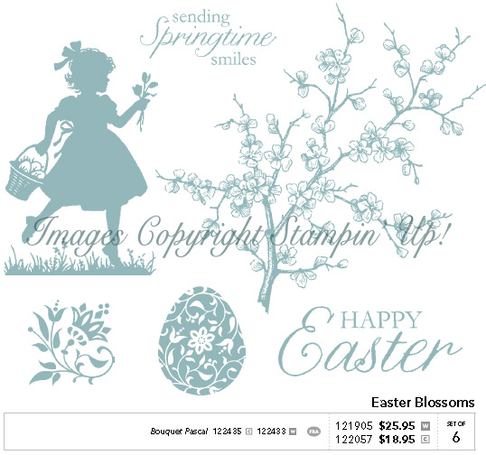Stampin' Up! Easter Blossoms Set