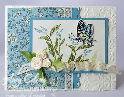 Nature Walk Butterfly Card