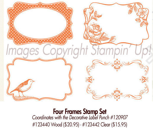 Stampin' Up! Four Frames Stamp Set