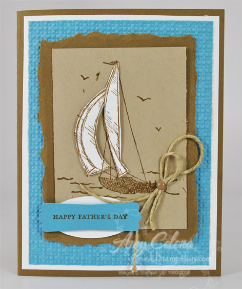 Sail Away Father's Day Card
