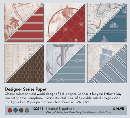Nautical Expedition Designer Paper