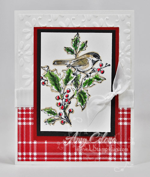 Stampin' Up! Beautiful Season Christmas Card