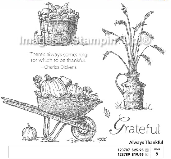 Always Thankful Stampin' Up! Set