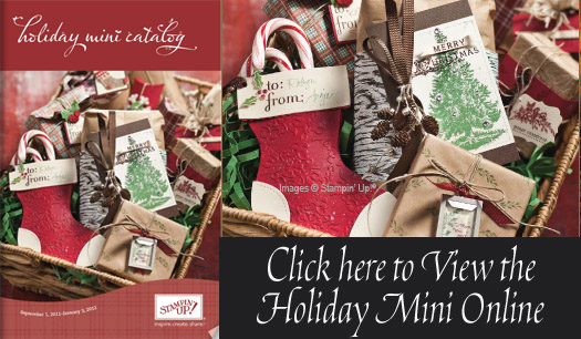 Stampin' Up! 2011 Holiday Mini Catalog