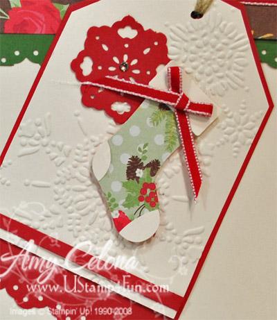 Christmas Tag detail