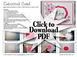 Bordering On Romance Card Step By Step PDF