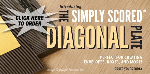 Simply Scored Diagonal Plate