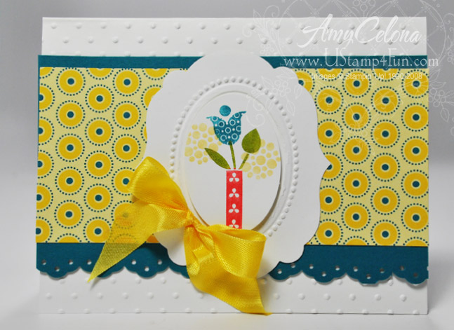 Stampin' Up! Summer Smooches Bright Blossoms set