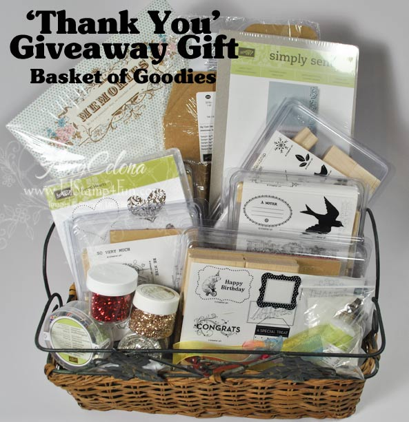 Stampin' Up! Product Giveaway