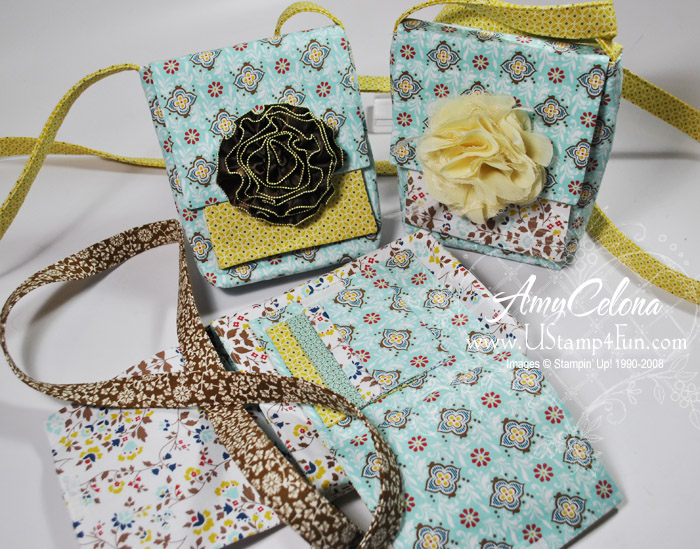 Stampin' Up! Fabric Purses