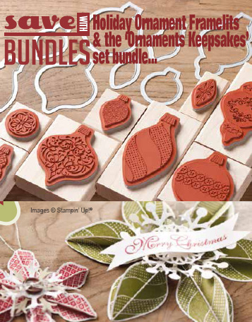 Stampin' Up! Ornament Keepsakes Bundle