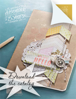 CLICK HERE for the Stampin' Up! 2013 Spring Catalog