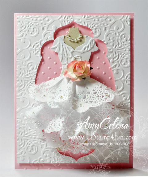 All Dressed Up Wedding Card