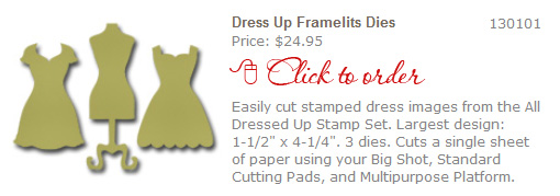 Click to Order Framelits Dies 'All Dressed Up'