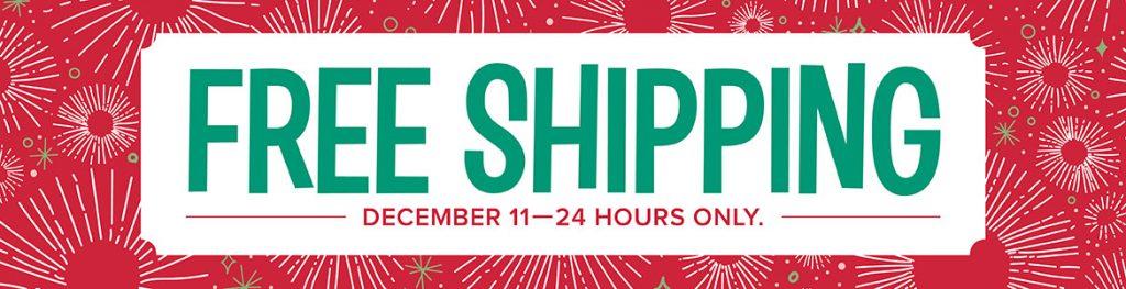 Stampin' Up! Free Shipping
