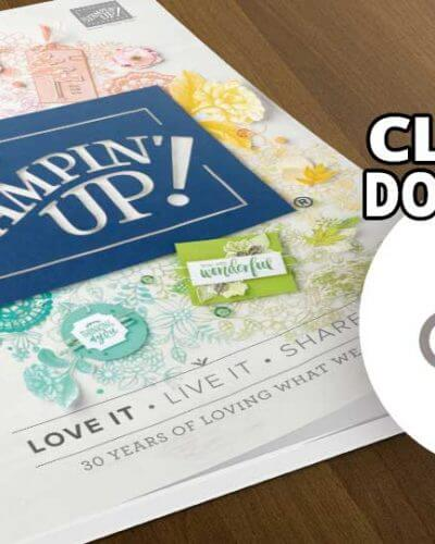 New 2018-19 Stampin' Up! Catalog is here!