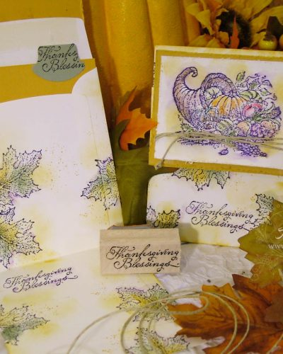 Thanksgiving Envelope Gift Card Holder