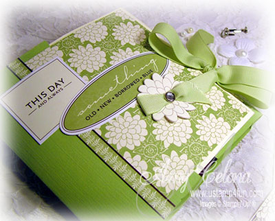 "Flip Book ""Tie the Knot"" Scrappin' Memories Kit"