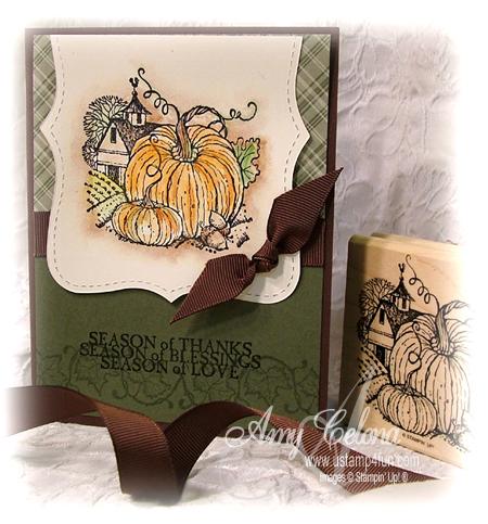 Harvest Home Thanksgiving Card